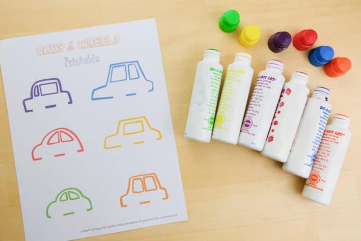 Carros para aprender as cores letras e números9 - Aprender as cores, letras e números